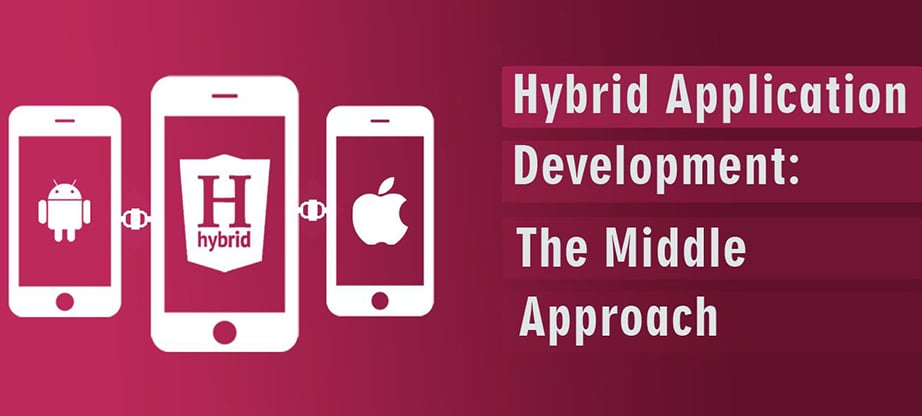 hybrid app development approach image