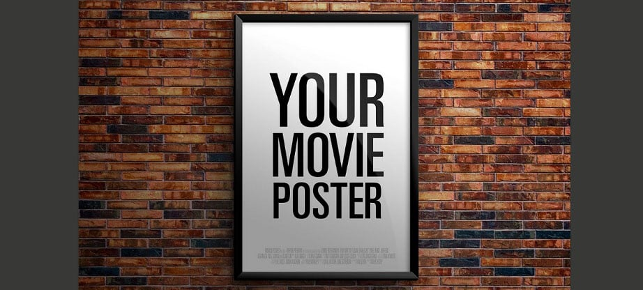 Theatrical Movie Poster Mockup PSD