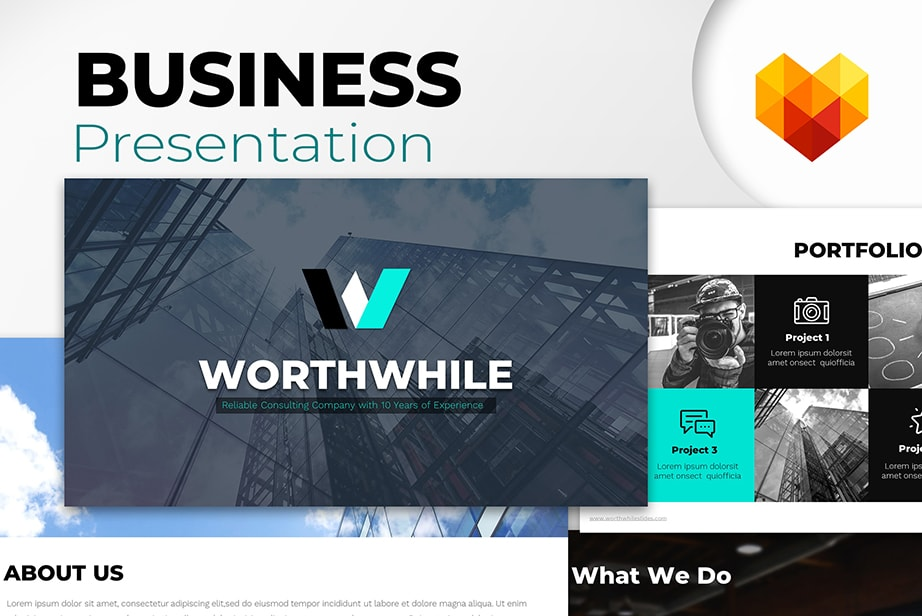 WorthWhile free ppt templates