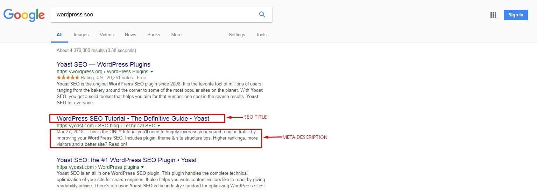 wordpress seo guide title and description image