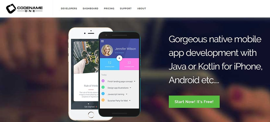 Codename One Cross Platform Mobile App Development