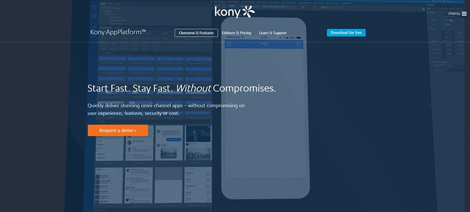 Kony AppPlatform Mobile App Development