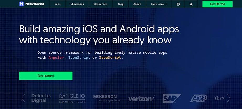 NativeScript Mobile App Development
