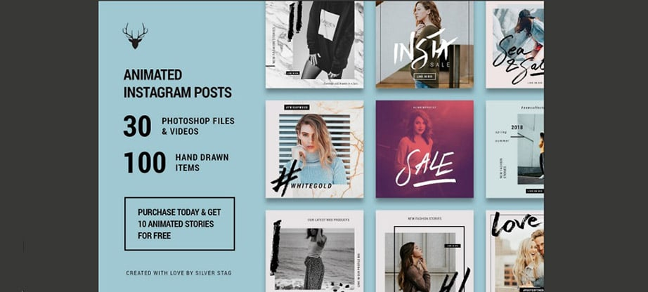 Instagram Post Template Bundles: Trendy Layouts for Insta