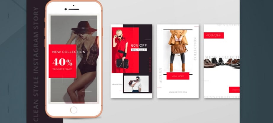 Free Clean Style Instagram Story Template Package