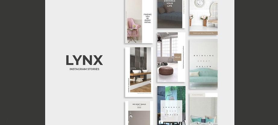 Lynx Instagram Story Template Package