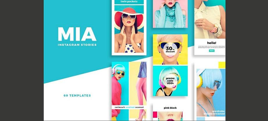 Mia Instagram Stories Pack