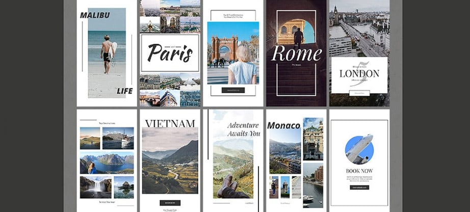 Travel Instagram Stories Pack