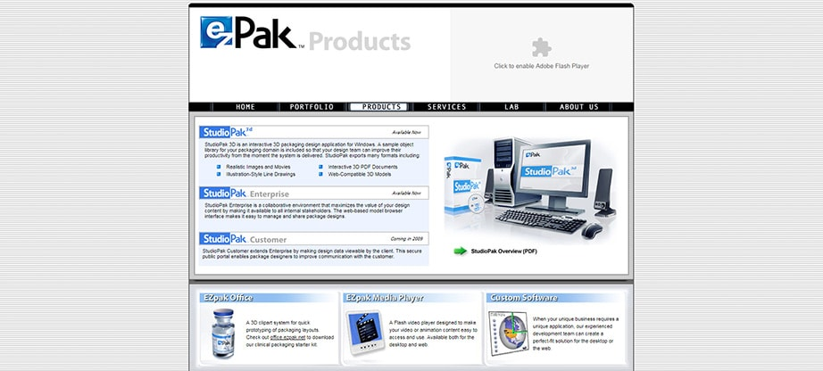 Studio Park Packaging Mockup Software
