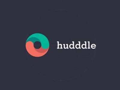 Hudddle Flat Logo