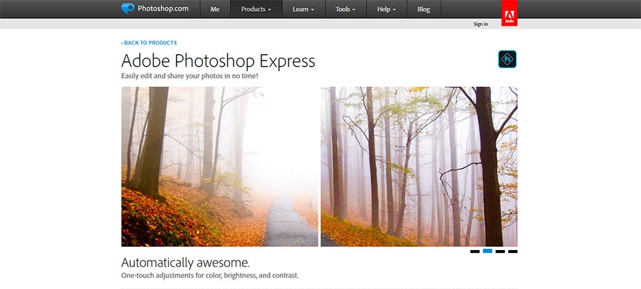 Adobe Photoshop Express - Free Photo Editing Apps