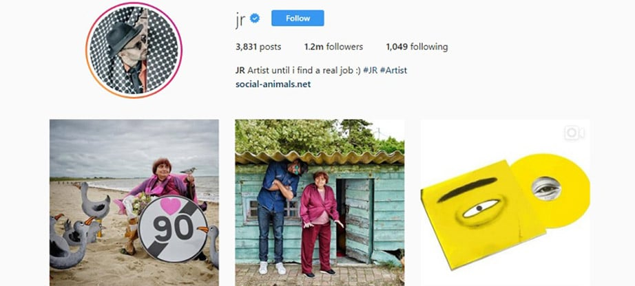 JR Instagram Account