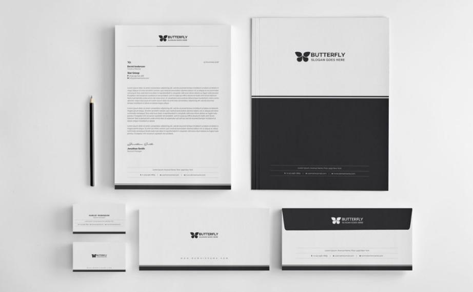 Corporate Identity Packages web design bundle image