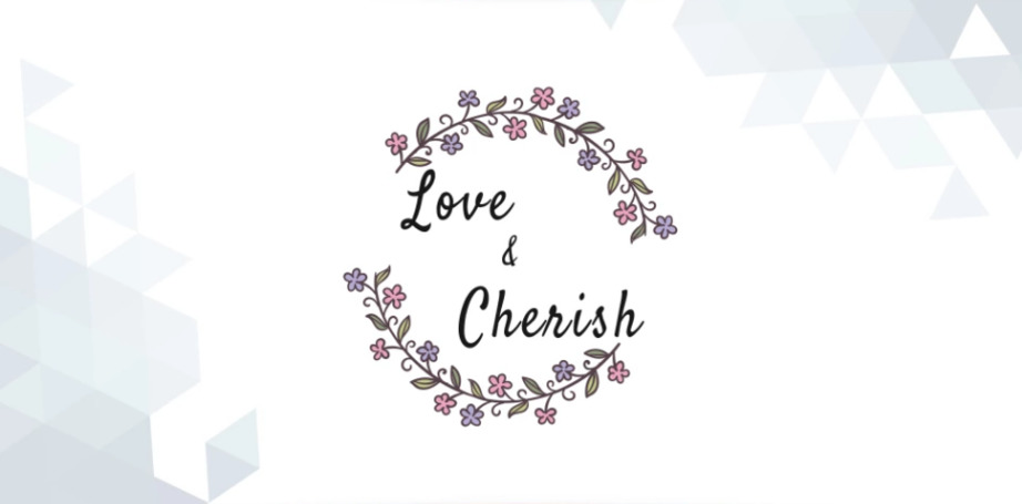 Logo Template Love & Cherish graphic art image
