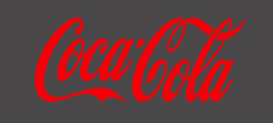 coca-cola wordmark logo design