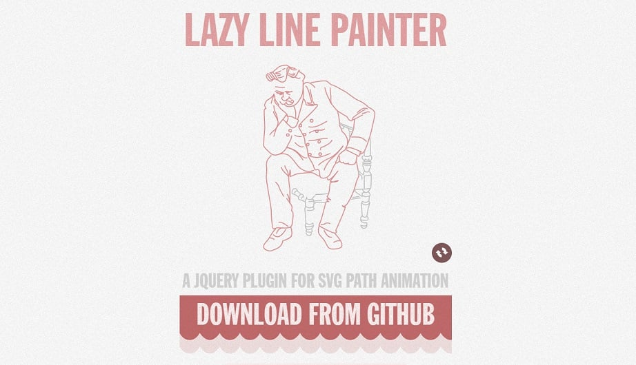lazy line painter interactive svg tool image