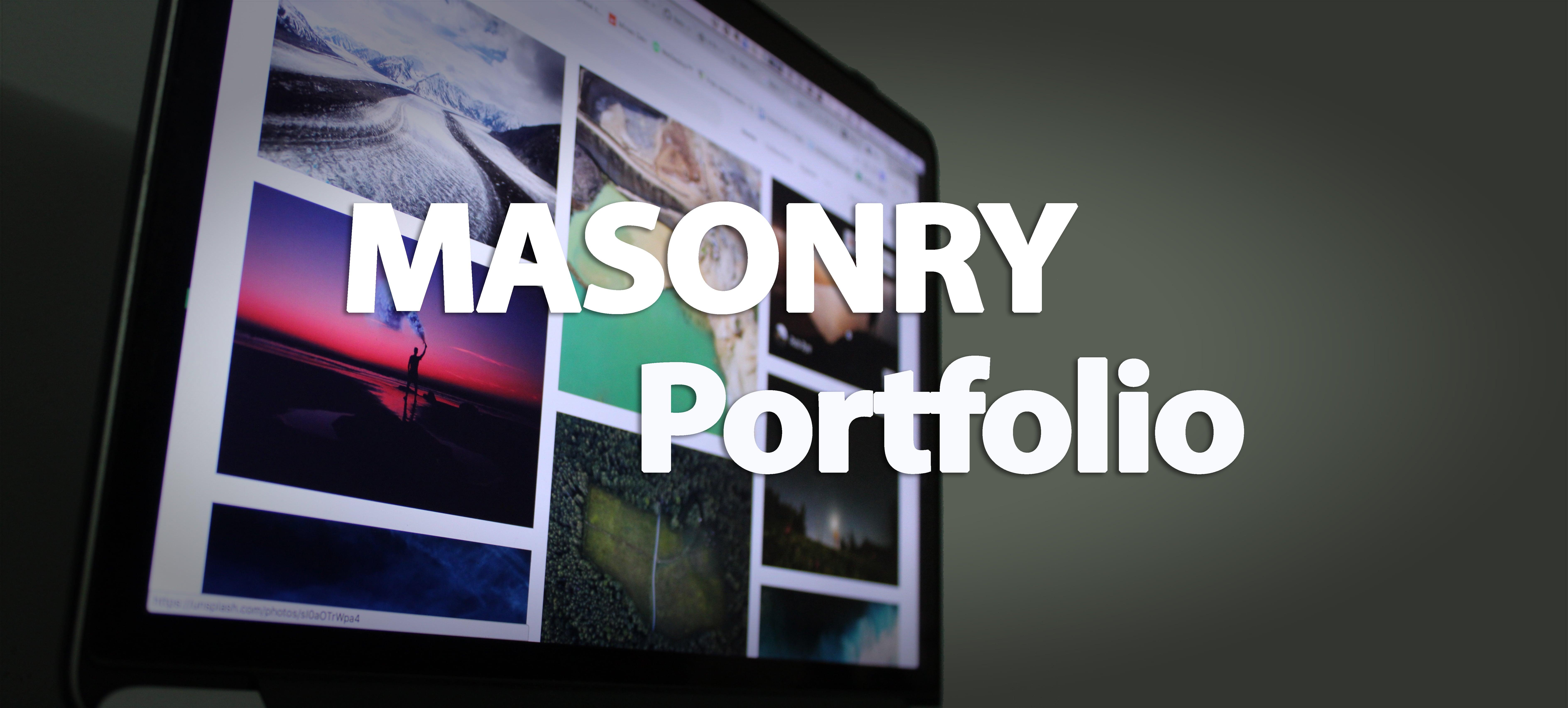 masonry portfolio main image