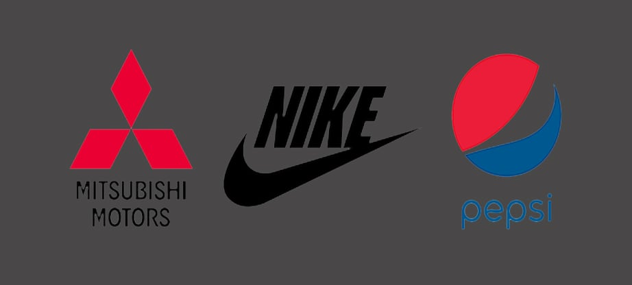 nike wordmark logo design image