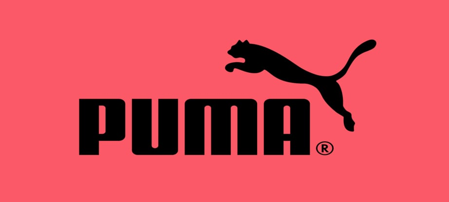 puma wordmark logo design