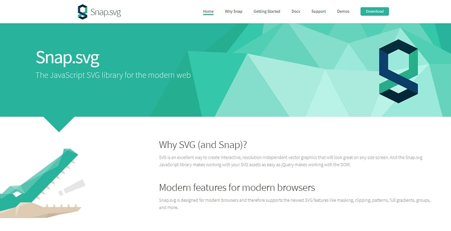 snap svg tool to create svg animation