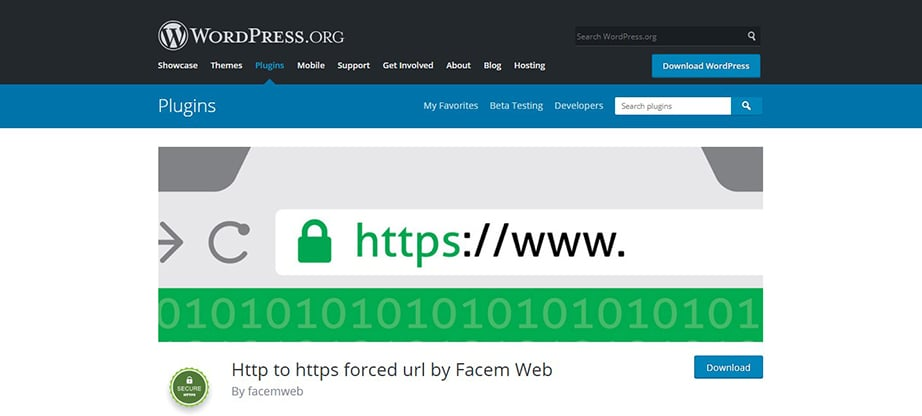 facem web wordpress ssl plugin image