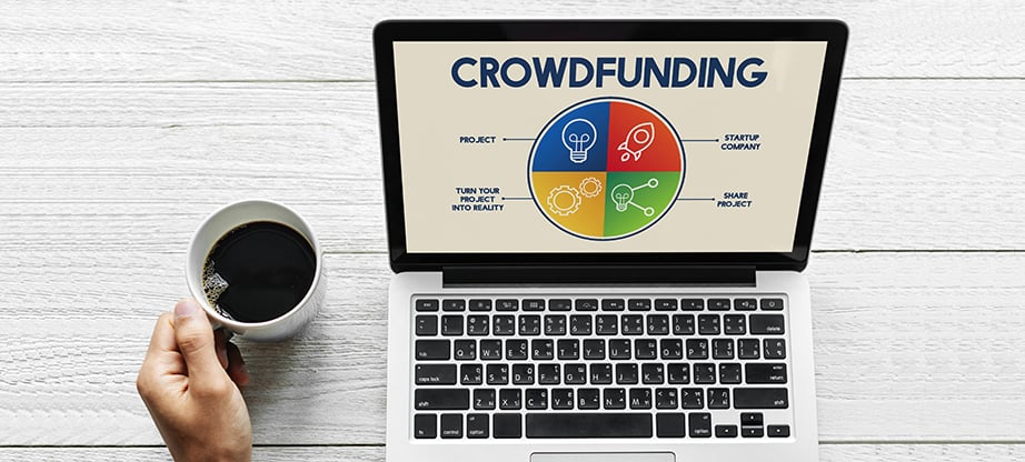 create crowdfunding website main image