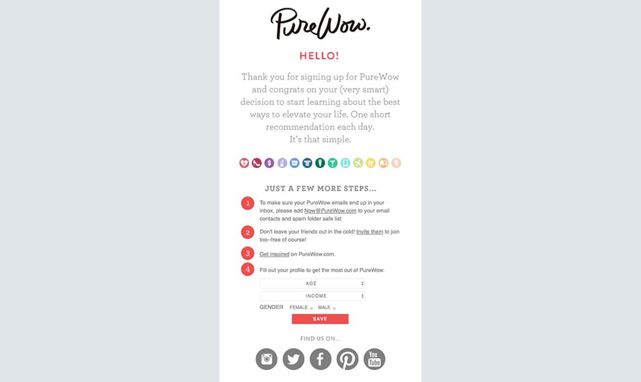 Dynamic Email Content paperfellows example