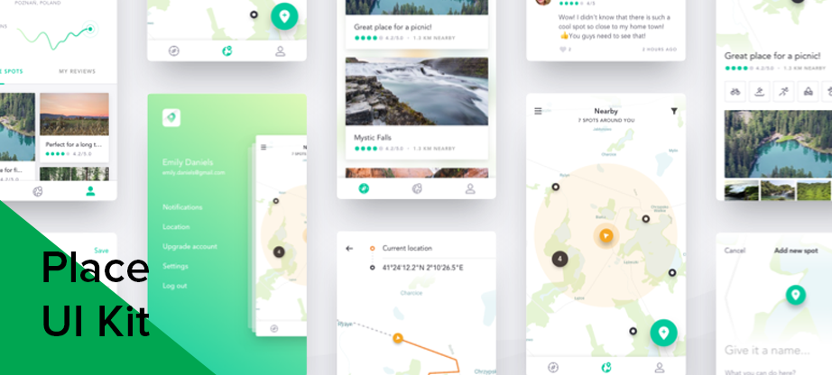 place ios ui kits