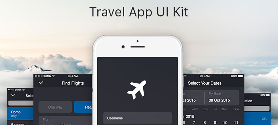 ios ui travel app