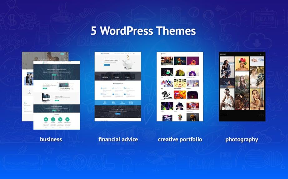 wordpress theme bundle sale