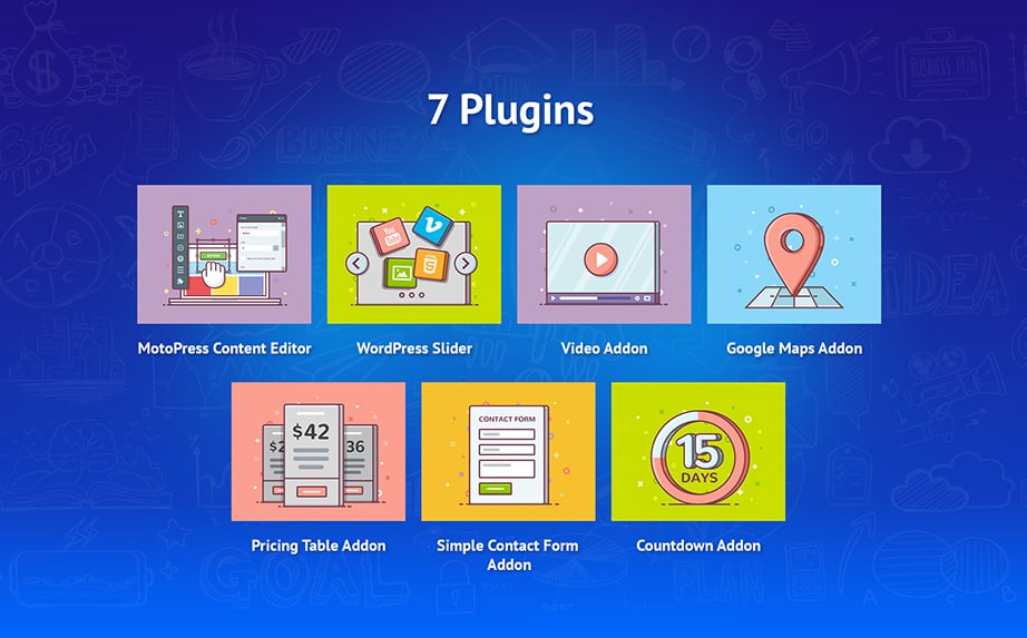 wordpress startup bundle plugins