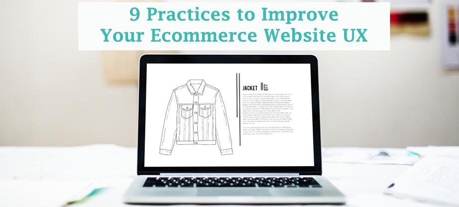 ecommerce website ux