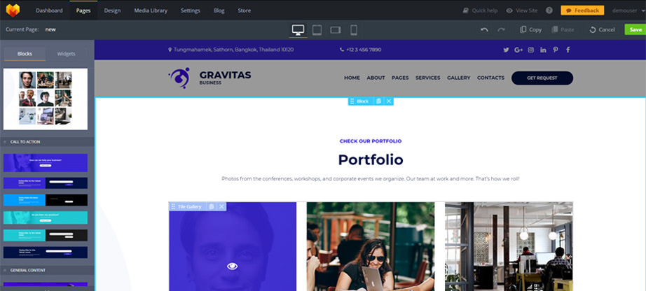 gravitas-pages-add-new-dashboard