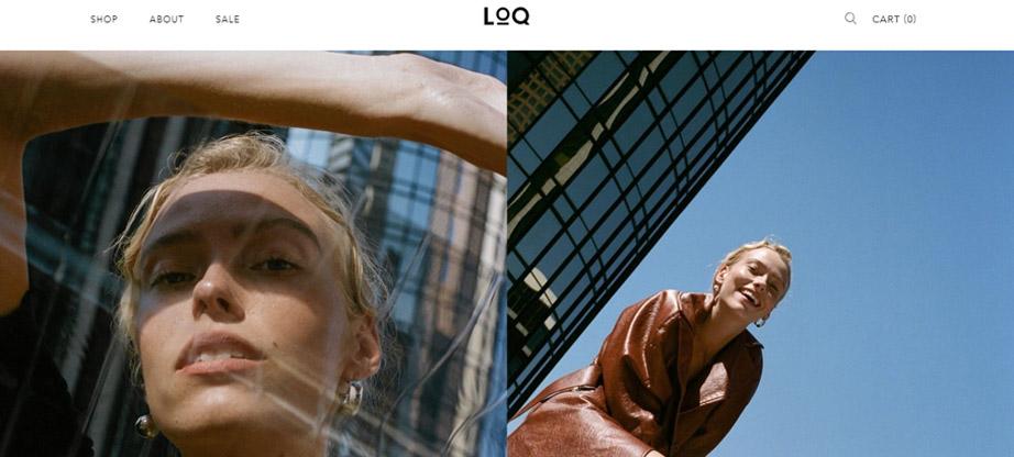 LOQ fashion ecommerce sites