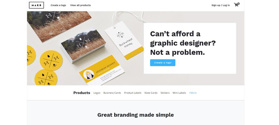 makr logo design equipment