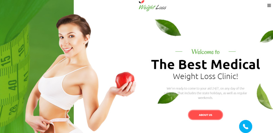 motocms website template weight loss