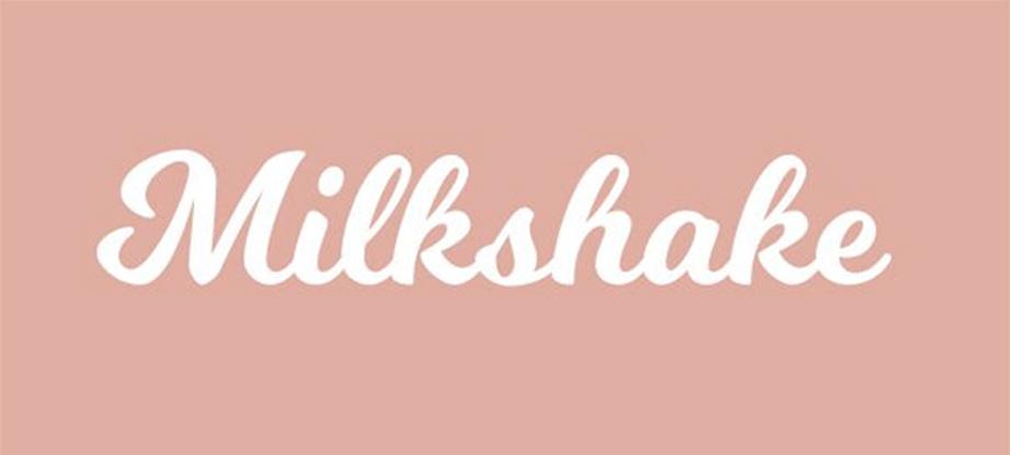 11-milkshake combine fonts