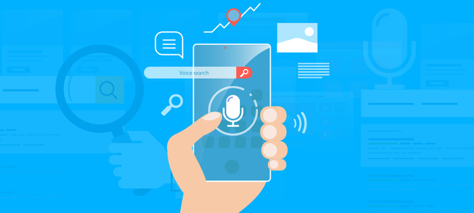 web development trends voice search