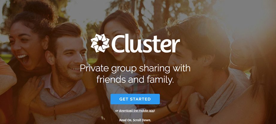 Photo Sharing Websites cluster