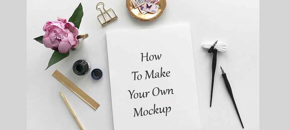 how to make your own mockup