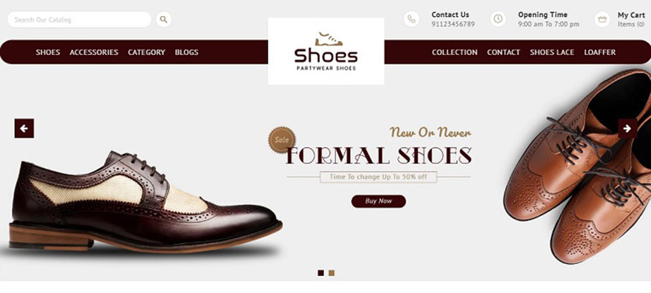 best converting shopify themes - shoes