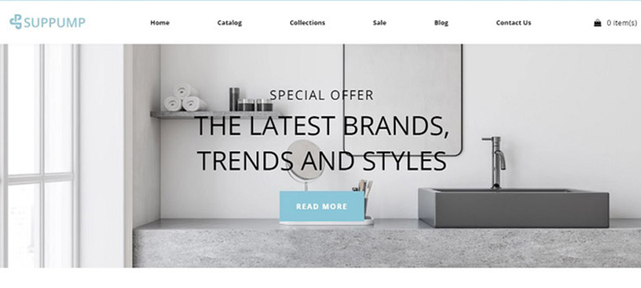 best converting shopify themes - suppump