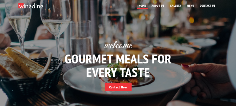 Winedine wp theme