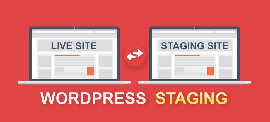 wordpress staging