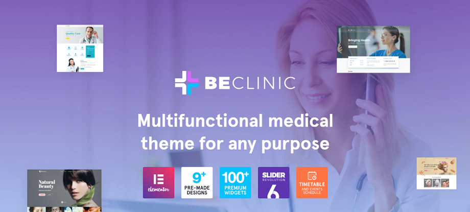 BeClinic-Multipurpose-Medical-WordPress-Theme