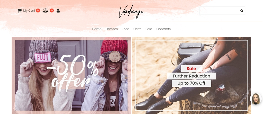 Boutique-Website-Template for-Fashion-Store