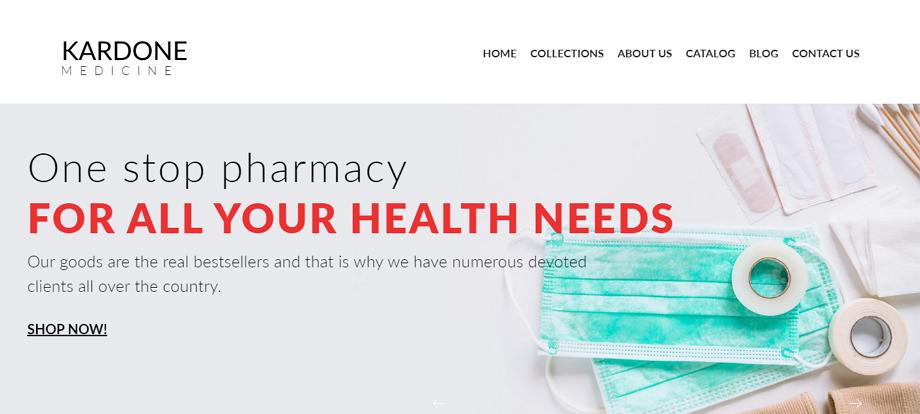 KarDone-Medicine-Online-Store-Template