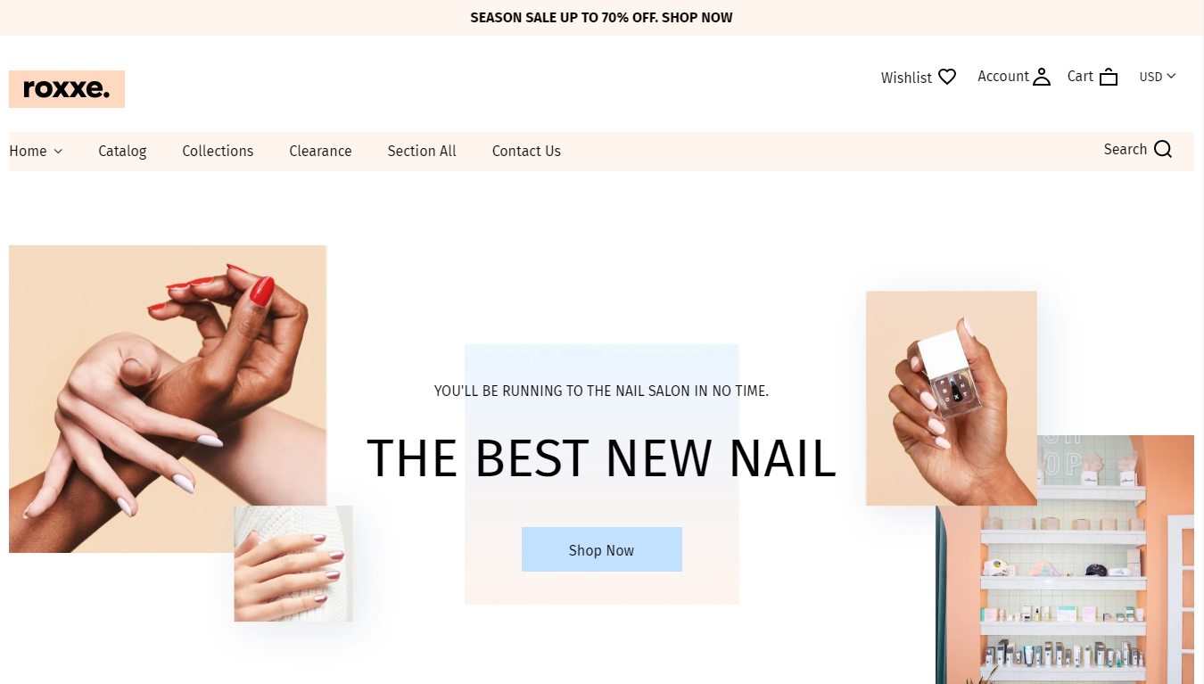 Step-3-Demo-Nails-1-start online business store