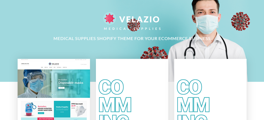 Velazio-Medical-Covid-Shopify-Template