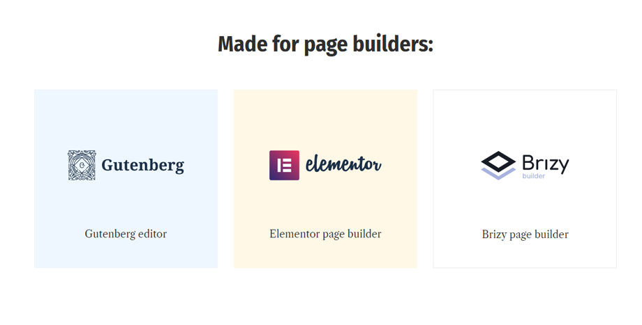 Perfect Solution for Page-Builder